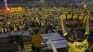 Les supporters du Lierse