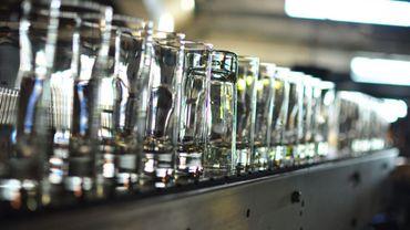 La chaîne de fabrication des verres