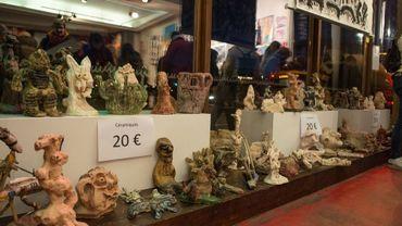 Grand déstockage d'oeuvres d'art au Créahm de Liège