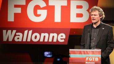 Thierry Bodson, leader de la FGTB wallonne