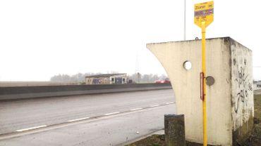 L'arrêt de bus La Tolle à Nandrin