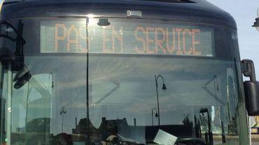 Grève spontanée dans les TEC à La Louvière