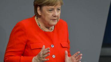Merkel voudrait que le budget soit finalisé d'ici la fin de l'année.