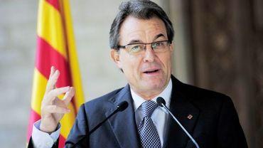 Artur Mas, président de la Catalogne