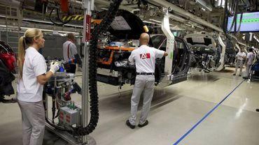 Les travailleurs d'Audi Brussels ont reçu l'an dernier un bonus de 3.797 euros.