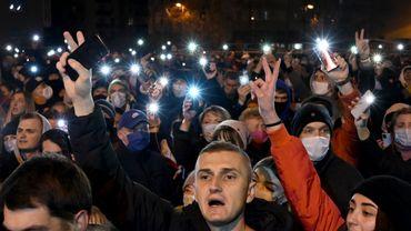 En Biélorussie, des milliers de manifestants après la mort d'un protestataire arrêté par la police