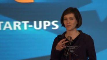 Dorothée Goffin, l'une des lauréates des Innovact Campus Awards 2011