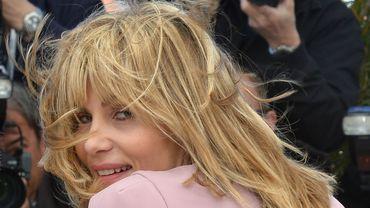 L'actrice française Emmanuelle Seigner.