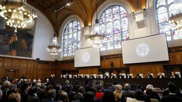 La Cour internationale de justice, le 1er octobre 2018 à La Haye