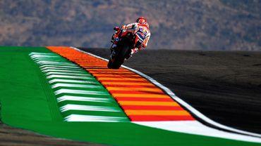 Marquez marque son territoire dès la 1re séance d'essais en Aragon