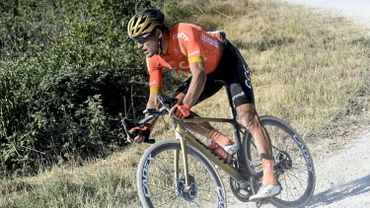 Van Avermaet a tout tenté lors de la 3e étape du Tour de Wallonie