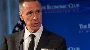 Arne Sorenson, patron de Marriott International, le 26 novembre 2018 à Washington