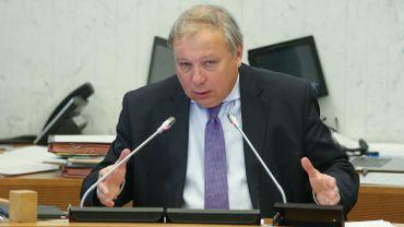 André Antoine, président du parlement wallon