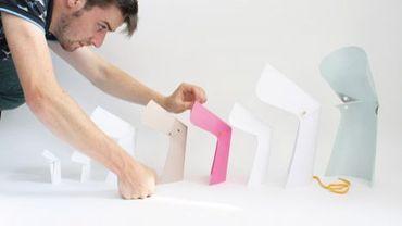 Tim Defleur, jeune designer français, travaille en Belgique pour le Studio Alain Gilles.