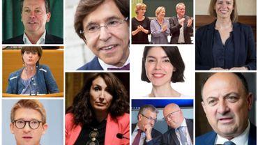 """Voici les ministres des nouveaux gouvernements """"arc-en-ciel"""""""