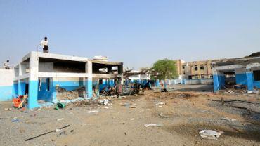 L'hôpital d'Abs détruit en 2016