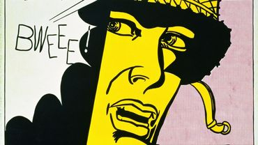 """""""Live Ammo (Tzing!)"""" de Roy Lichtenstein"""