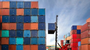 Coronavirus en Belgique : les exportations flamandes à moins d'un tiers de leur niveau habituel