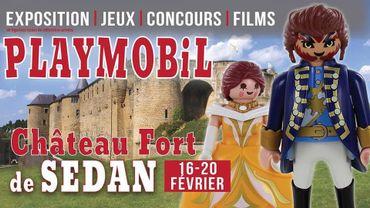 Exposition Playmobil® au Château fort de Sedan