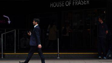 Les magasins House of Fraser vont se déclarer en faillite: 17.500 emplois en sursis