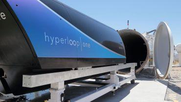 L'Hyperloop de Tesla a atteint les 355 km/h