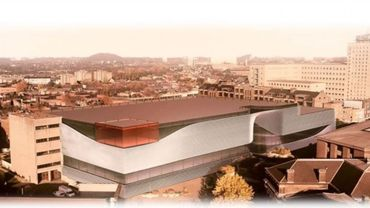 L'esquisse de la future Cité des Métiers à Charleroi