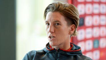 Aline Zeler quitte son poste au PSV.