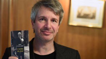 """Eric Vuillard a reçu le Prix Goncourt pour """"L'ordre du jour"""""""