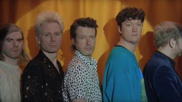 """Le groupe Franz Ferdinand dans son nouveau clip """"Glimpse Of Love""""."""