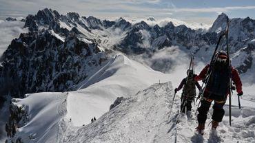 Le Mont blanc retrouve ses passionnés avides d'espace et de sensations
