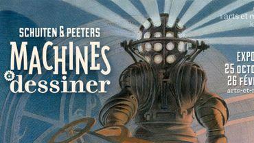 L'imaginaire mécanique de Schuiten et Peeters au Musée des Arts et Métiers de Paris