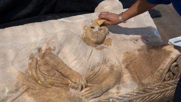 Israël sauve d'un sort incertain un très rare sarcophage romain