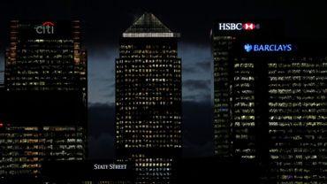 Le quartier des finances de Canary Wharf, à Londres, le 19 novembre 2018