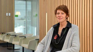 Valérie Notelaers, directrice de la Mutualité Chrétienne de Liège.
