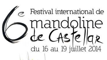 Affiche du 6e Festival international de Mandoline de Castellar