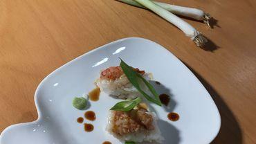 """Sashimi d'écrevisses ardennaises : une recette """"tradition et exotisme"""" !"""
