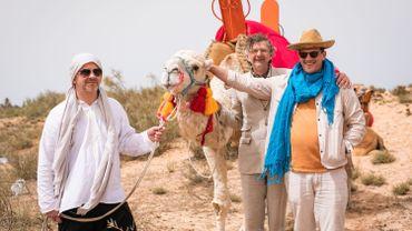 C'était pas des chameaux, c'était des dromadaires!