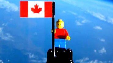 Le petit Lego a atteint les 27 kilomètres d'altitude.