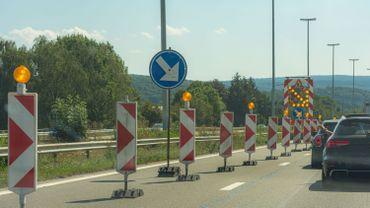 E411 vers Namur : fermeture quelques jours de certaines bretelles d'accès et de sorties