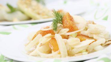 Recette : la salade #fenouilorange en un tweet