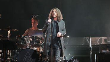Chris Cornell en concert avec le groupe Temple Of The Dog en 2016