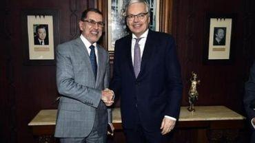 """Reynders veut """"renforcer les relations bilatérales entre la Belgique et le Maroc"""""""