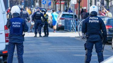 Le SLFP Police partage une vidéo de faits de violences envers des policiers à Anderlecht