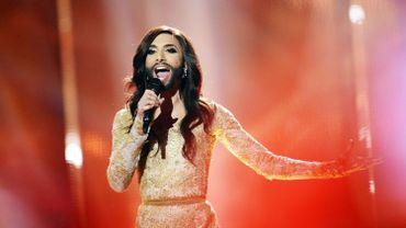 """Conchita Wurst représentait l'Autriche avec la chanson """"Rise Like A Phoenix"""""""
