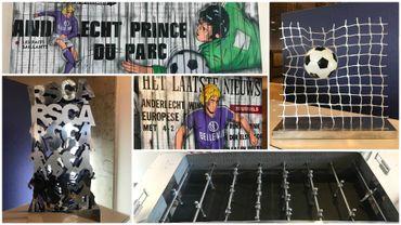 Quand l'Art rencontre le foot: le Babyfoot le plus cher du monde... à Bruxelles