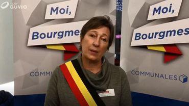 Nathalie Demanet, bourgmestre de Havelange.