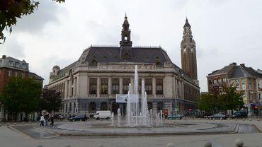 L'hôtel de ville de Charleroi