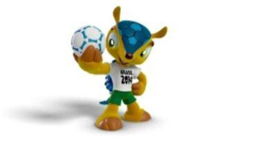 Tatu-Bola, mascotte du Mondial 2014