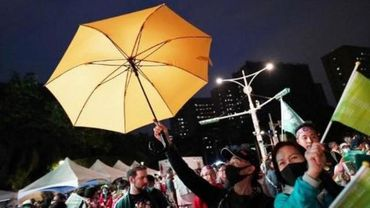 Le feu d'artifice du Nouvel An chinois annulé à Hong Kong.