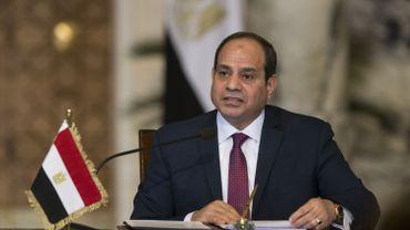 Le président égyptien, Abdel Fattah al-Sissi.